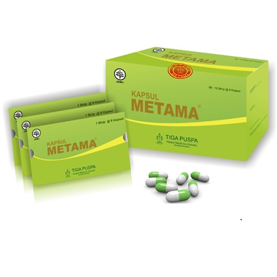 Pengobatan Asam Lambung Herbal Metama